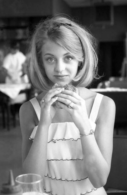 Happy birthday to Goldie Hawn. Photo c.1964.