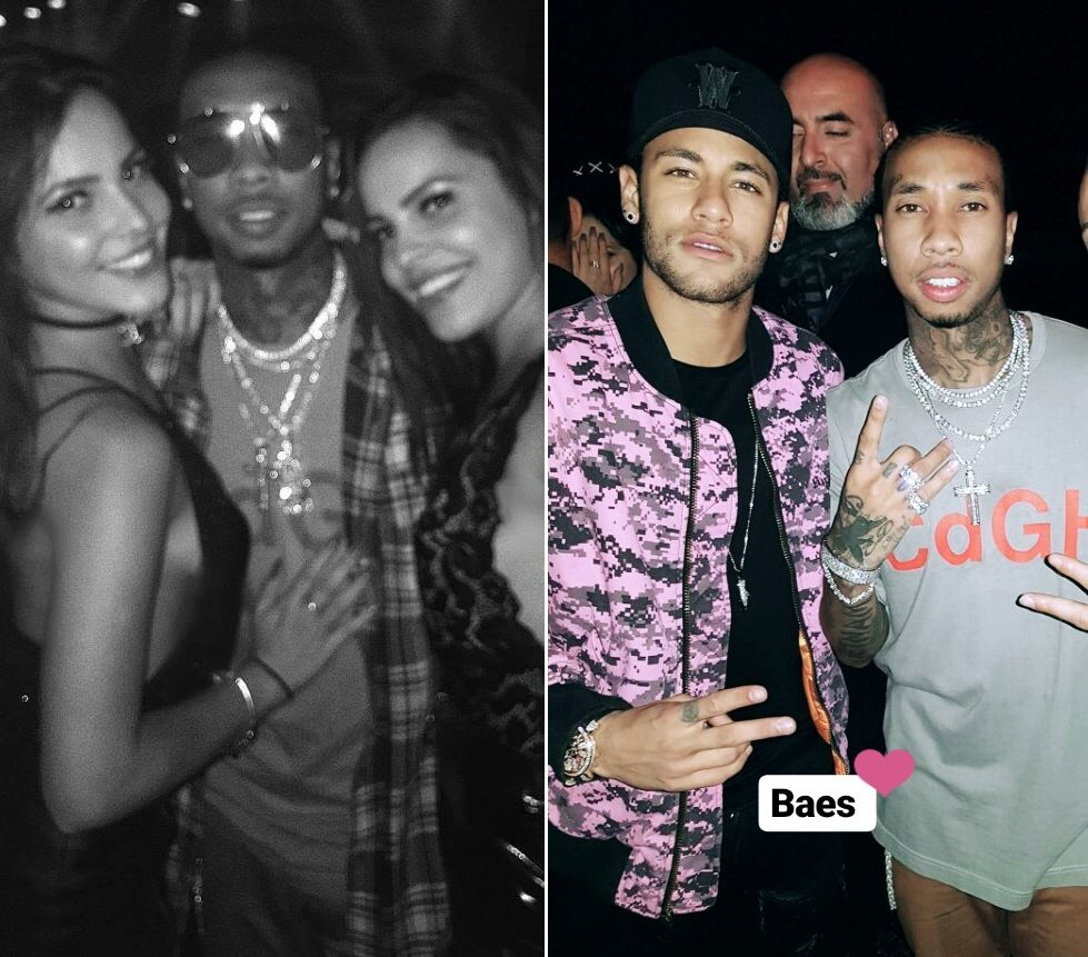 Emilly e Mayla Araújo curtem show de Tyga com Neymar em Paris https://t.co/aUDsc9jgnv