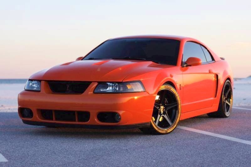 #TerminatorTuesday | The mean 2004 #Cobra in competition orange... #Ford | #Mustang | #SVT_Cobra<br>http://pic.twitter.com/kSHVNaURtc