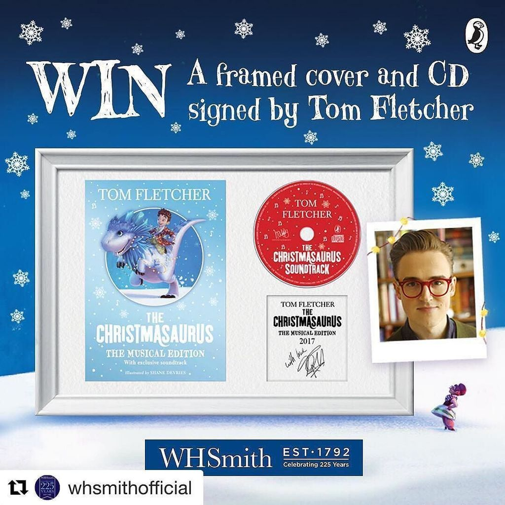 #Repost @whsmithofficial (@get_repost) ・・・ This is one competition you don't want to miss! We've got a framed cover and CD of @tomfletcher's The Christmasarus to giveaway &amp; all you have to do to enter is like this post &amp; follow us! We also have 4 sig…  http:// ift.tt/2AkctJD  &nbsp;  <br>http://pic.twitter.com/Lx3kItfZLn