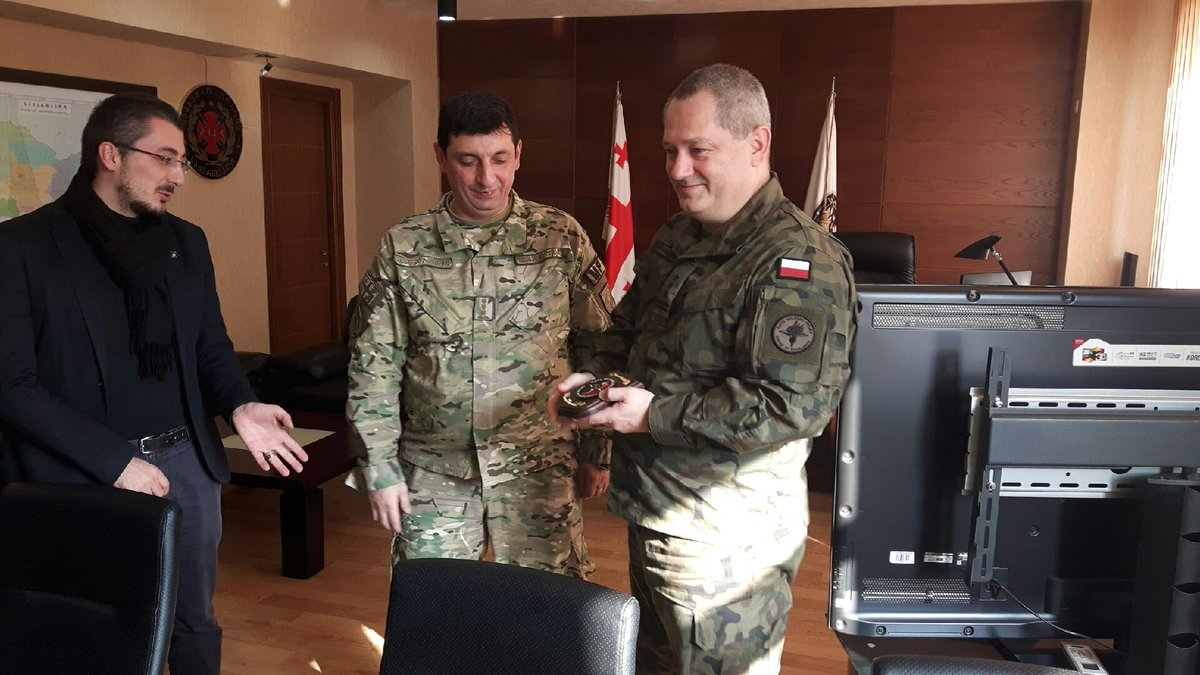 The #NATO @MP_CoE is participating in the Multinational Workshop in Tbilisi(Georgia) @GrzegorzWasiel1 @Poland_MOD @MON_GOV_PL @PAPinformacje @Macierewicz_A @annapeziol <br>http://pic.twitter.com/FKjHCp1yGJ