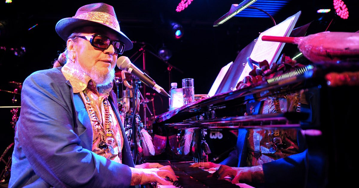 Happy Birthday to legendary New Orleans musician Dr. John. Born on this day in 1940.