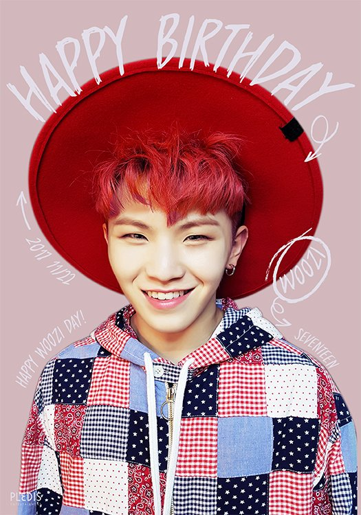 20171122 Happy WOOZI's Day♥ #Happy_WOOZI_Day #VOBOWOOZIday #OUR_VOBO #SEVENTEEN #WOOZI