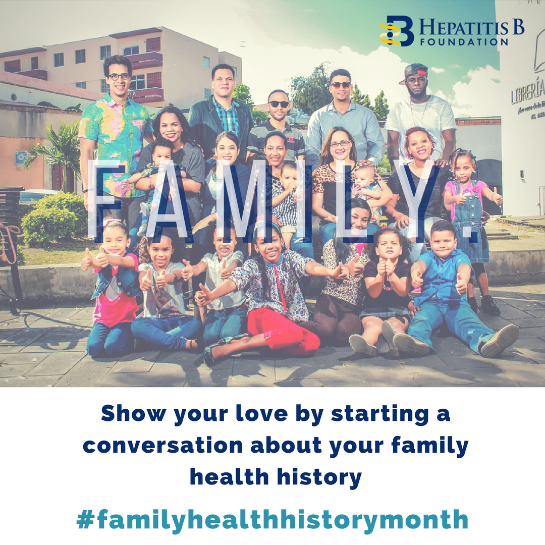 #Thanksgiving is also #FamilyHealthHistoryDay. Take this holiday to talk to family about your health, history &amp; possible risk for #hepatitis B. #FamilyHealthHistoryMonth  http://www. hepb.org  &nbsp;   #hepB #HBV #AAPI #African #immigrant<br>http://pic.twitter.com/A27yKGvcye