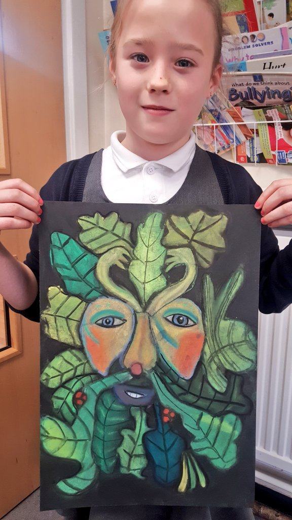 Stunning art learning with Mrs Taylor Year 5. These will look fantastic on display and brighten everyone&#39;s day! #art #Creative #pastels <br>http://pic.twitter.com/EkYKw3b5O1