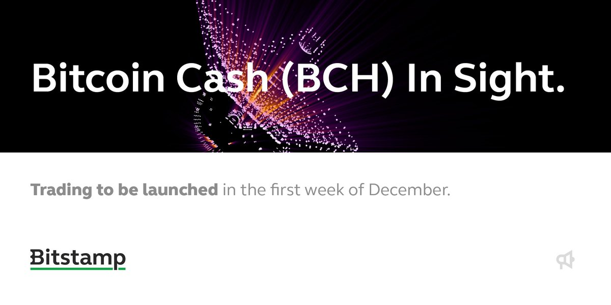 bitstamp bitcoin cash support