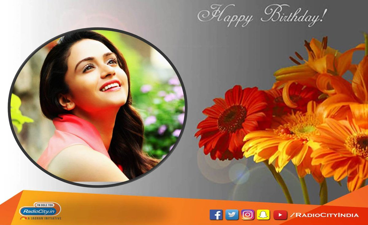 Here&#39;s wishing the gorgeous @AmrutaOfficial a very Happy Birthday! Stay blessed. Comment below to wish her now! #RadioCityPune #Love #Smile @rjshonali #actress #Dancer #Host  @DreamersPR @TeamAmruta #HappyBirthdayAmruta<br>http://pic.twitter.com/4fzbhxnoNs