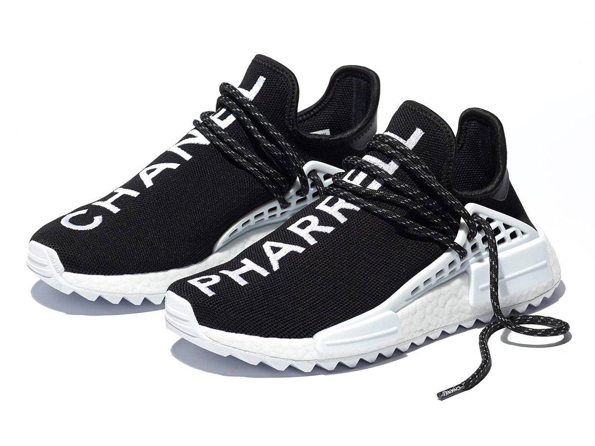 67f60400b64  shoeoftheday  adidasoriginals  Pharrell Williams x  CHANEL HU NMD http