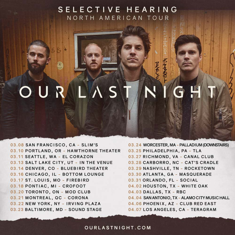 Our Last Night On Twitter Free Meet And Greets For All Tickets