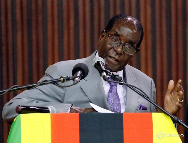 BREAKING:  #Zimbabwe  president  Robert Mugabe  has resigned - speaker