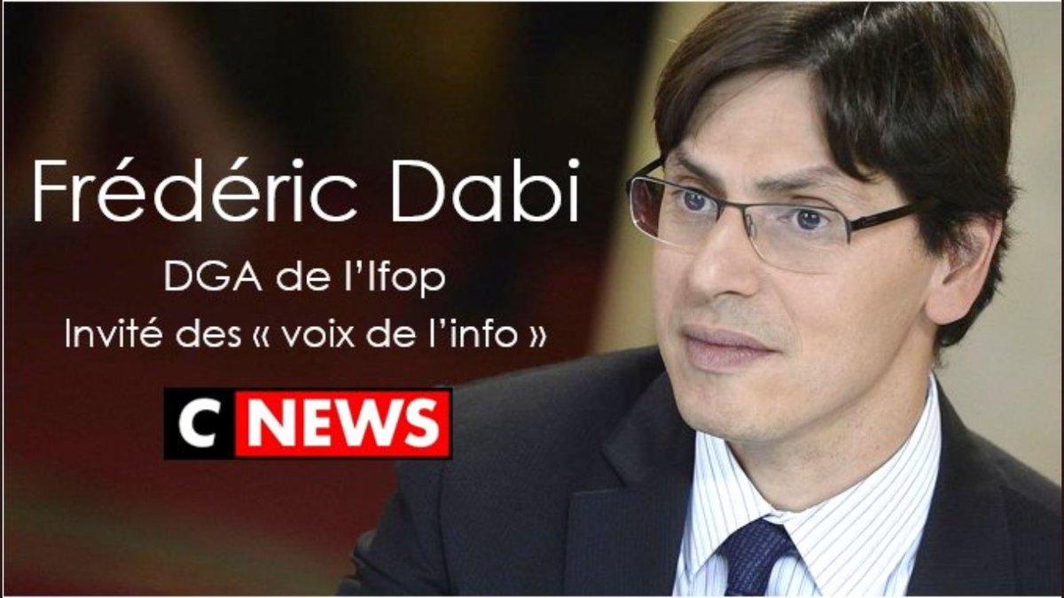 Frédéric Dabi de l'@IfopOpinion sera à 17h30 aux #voixdelinfo de @SoMabrouk sur @itele  Thèmes :  #Wauquiez #FN : alliance?  #Territoires #Maires: la méthode Macron