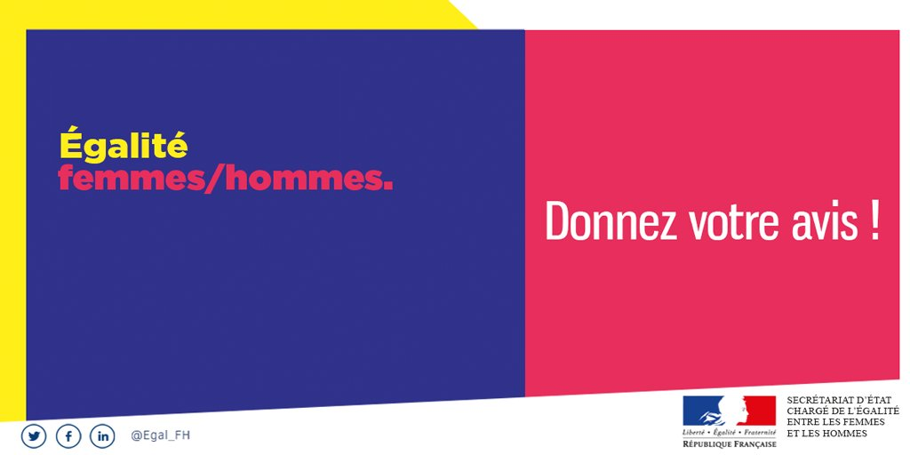 #Egalité FH  Les ateliers pour le Tour de France de L'égalité ouvrent en Hautes-Pyrénées. Inscrivez-vous et venez donner votre avis. Pour plus de renseignements sur les thèmes et dates des ateliers, rendez-vous sur : https://t.co/EmIHMXHqWf