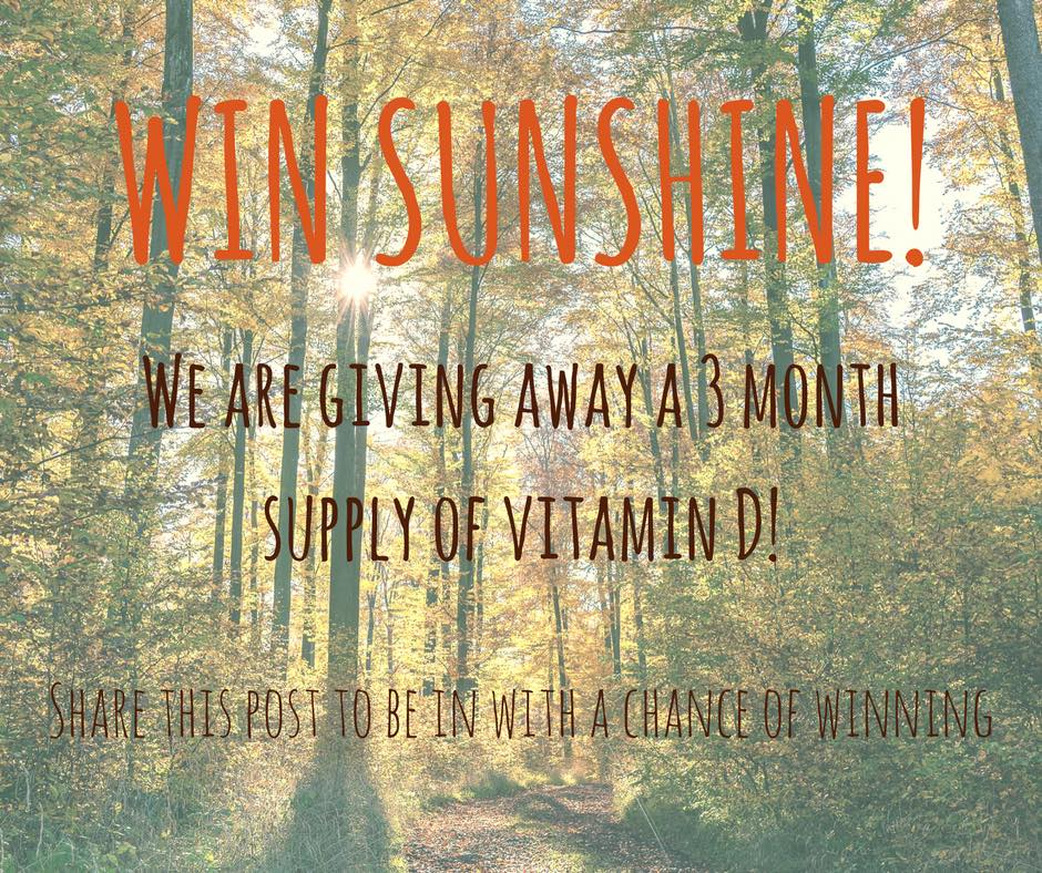 COMPETITION TIME! We&#39;re giving away a 3 month supply of #VitaminD to one lucky winner! Simply retweet this post for your chance to win... #Competition #Health #healthandfitness #sunshine <br>http://pic.twitter.com/t4goWZcd8C