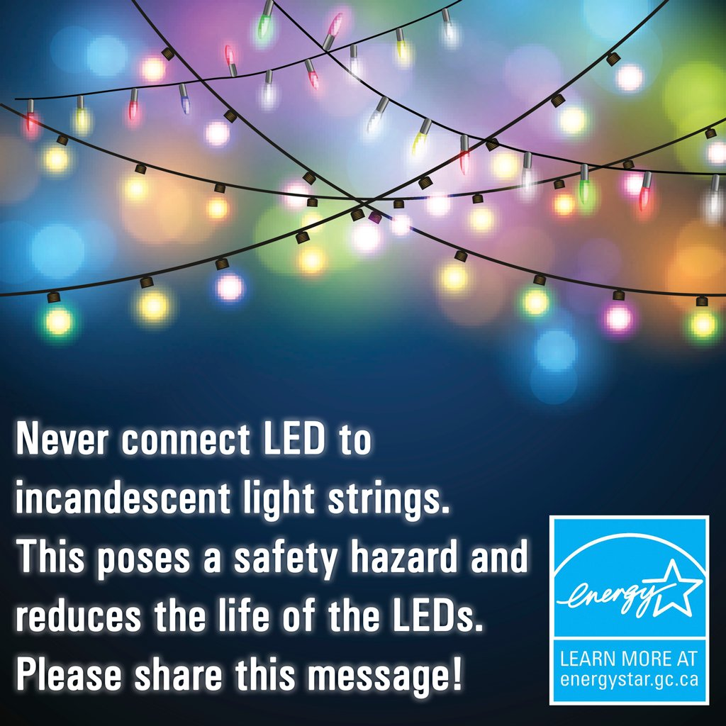 your home w energy star christmas lights but before you do check out this httpwwwnrcangccaenergyproductscategorieslightingbulbs17918