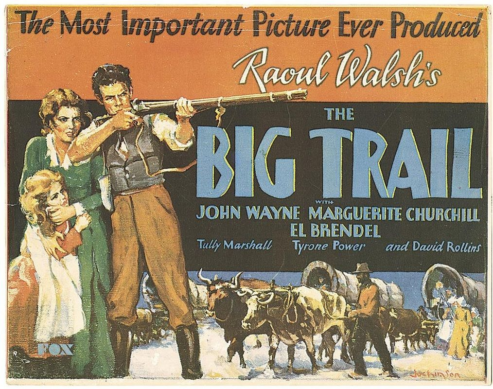 18:00 THE BIG TRAIL (1930) **PREMIERE** #JohnWayne in his first leading role directed by #RaoulWalsh<br>http://pic.twitter.com/wcaPkgc364