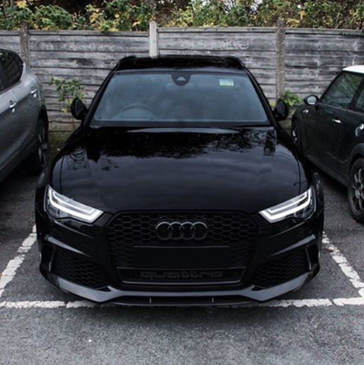 Blacked out Audi RS6   Rate this if you like that! #car #cars #automotive #luxury <br>http://pic.twitter.com/SH1FpGyEjG