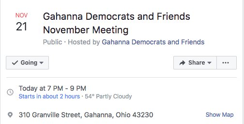 #Columbus area friends! Want to learn how to be an activist at the state level? Want to influence Statehouse policy? We&#39;ll be giving another &quot;How Things Work at the Ohio Statehouse&quot; presentation TONIGHT! #Resist<br>http://pic.twitter.com/lvBtnHoVCt