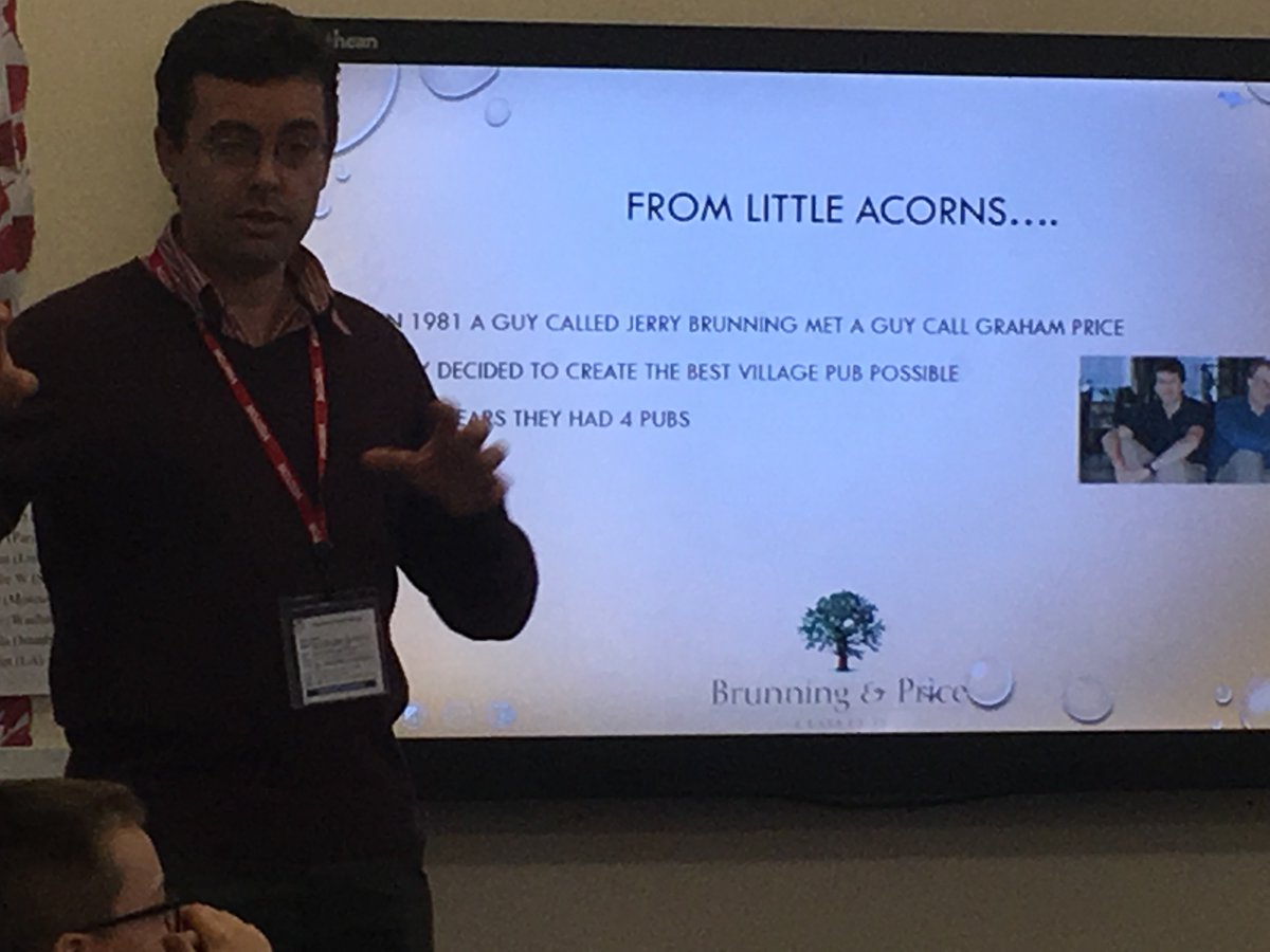Mr Williams talked to year 6 about the food industry. From little acorns, huge ideas and great success can grow. #brunningandprice #creative curriculum #realworldlearning