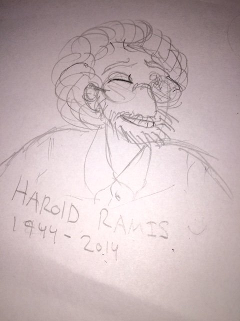 Happy Birthday Harold Ramis - He would have been 73