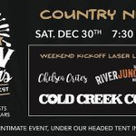 We'll be in #stratford at the Market Square on December 30th with special guests @RiverJunctband and @ChelseaCrites ! You won't wanna miss this one! 🥂🍭😉 #newyears2017 #countrynight #love #instamood