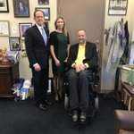 Nice introductory meeting with @SenToomey. Hoping the dialog continues.