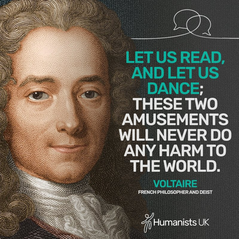 Words to live by from #Voltaire, born #onthisday in 1694.<br>http://pic.twitter.com/tGjg2zgyhm