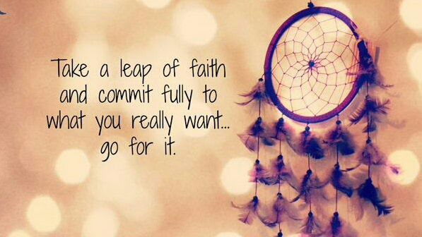 Good Life Quotes On Twitter Take A Leap Of Faith And Commit Fully