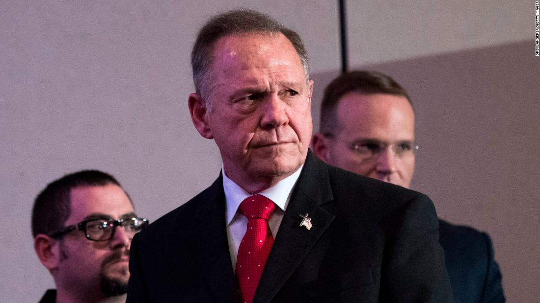Alabama Republican Senate candidate Roy Moore says he first noticed his wife when she was 15 or 16 years old https://t.co/Ez5DyXfq7p