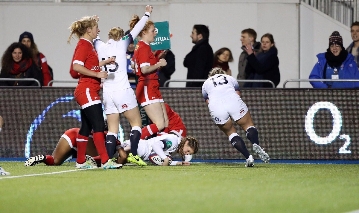 Less than an hour until kick off. Let's do this Red Roses.   🌹v🇨🇦  Love the game, #WearTheRose