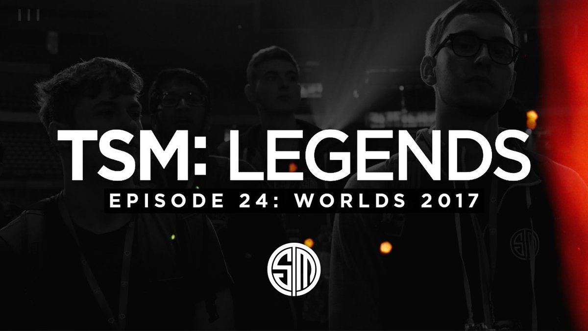 The final episode of #TSMLegends is here...