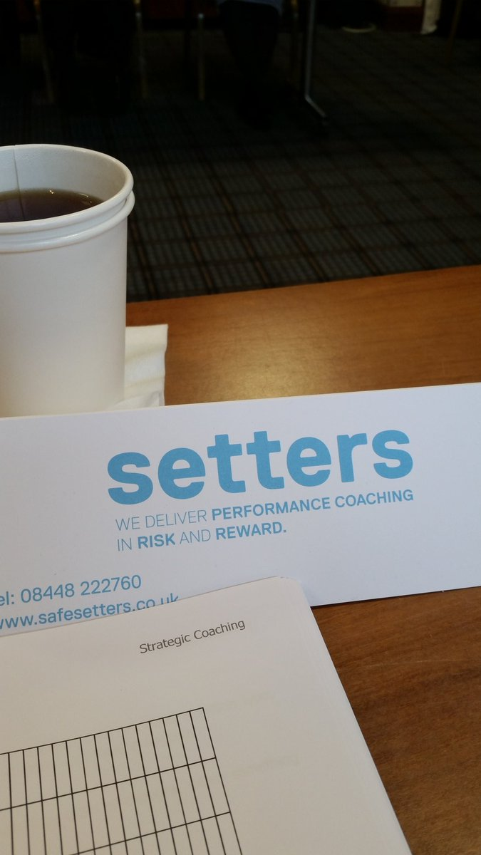 @safesetters 2 days of coaching training down. 3 more days next week https://t.co/gY52QBOHwG