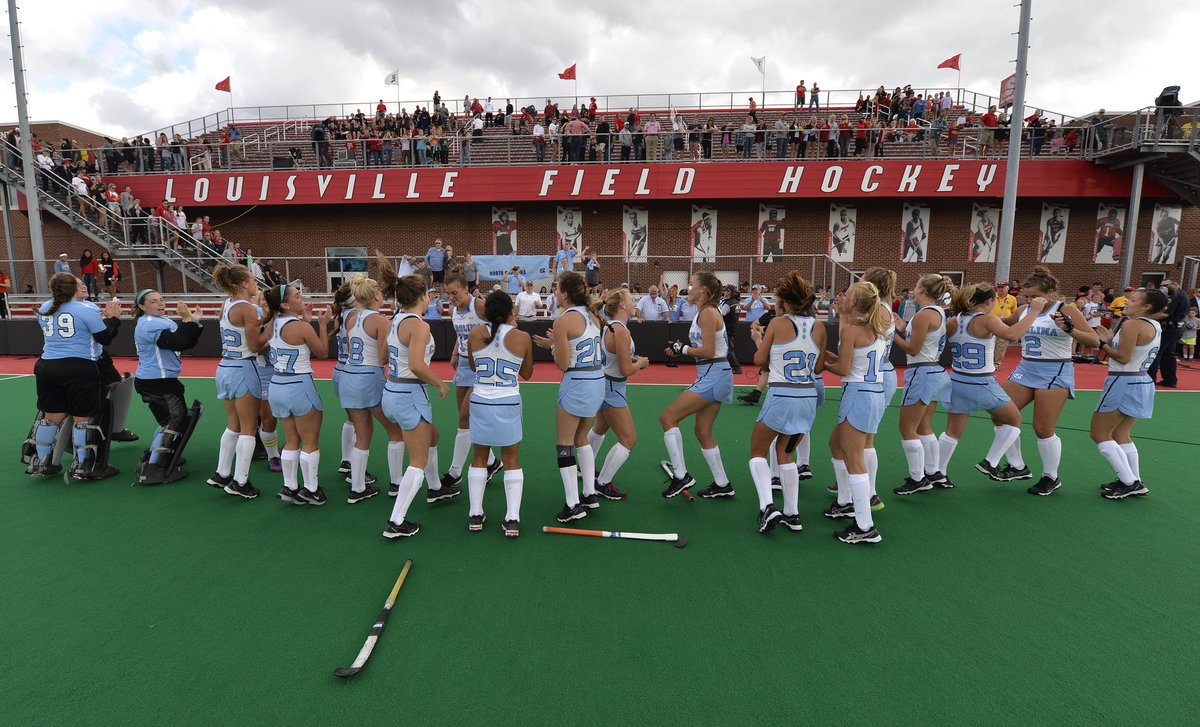Shout-out to @GoCards, @ULFieldHockey &amp; @gotolouisville for hosting tons of awesome hockey this month! We appreciate all your hard work &amp; hospitality! #NCAAFH #ACCFH #LouisvilleLove #GoHeels <br>http://pic.twitter.com/TBf24wZLUb