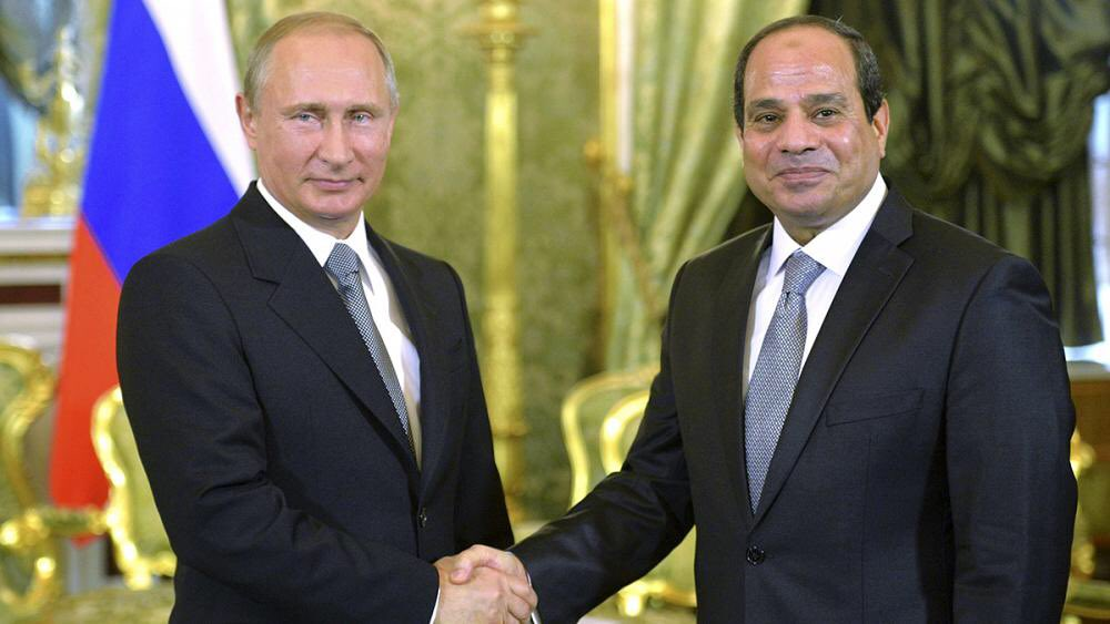Вечер больших телефонных переговоров: После Трампа и короля Сальмана Путин обсудил будущее Сирии с президентом Египта Сиси