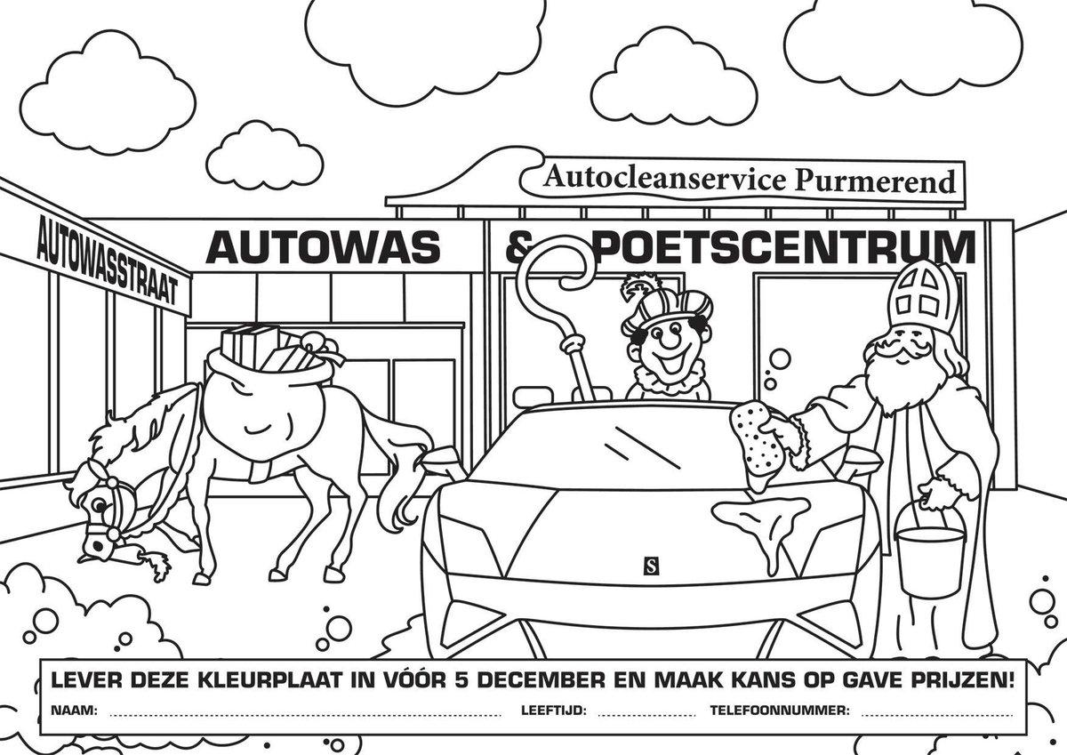 autowassen kleurplaat kidkleurplaat nl