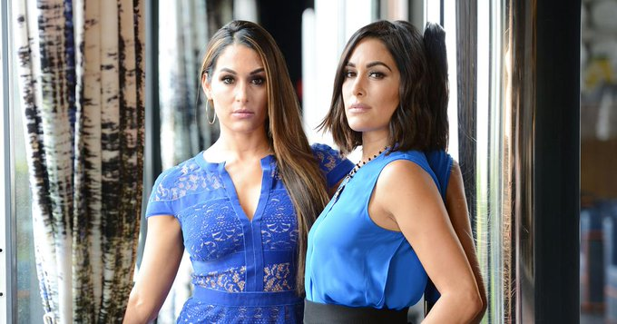 Happy Birthday to Nikki and Brie Bella who turn 34 today!