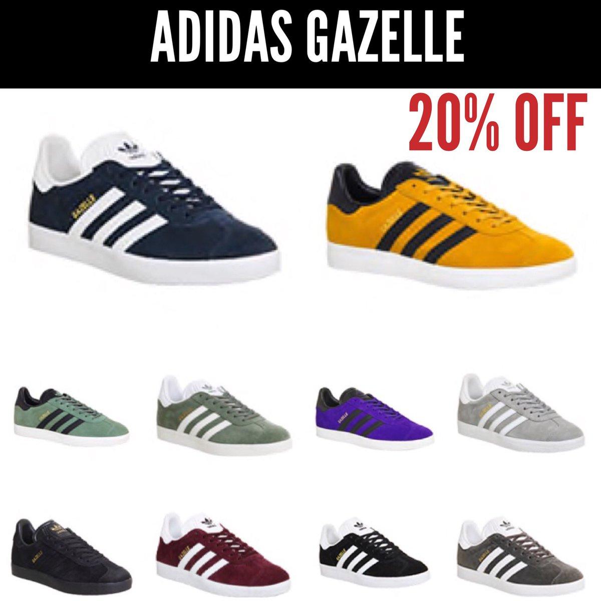 adidas gazelle discount code