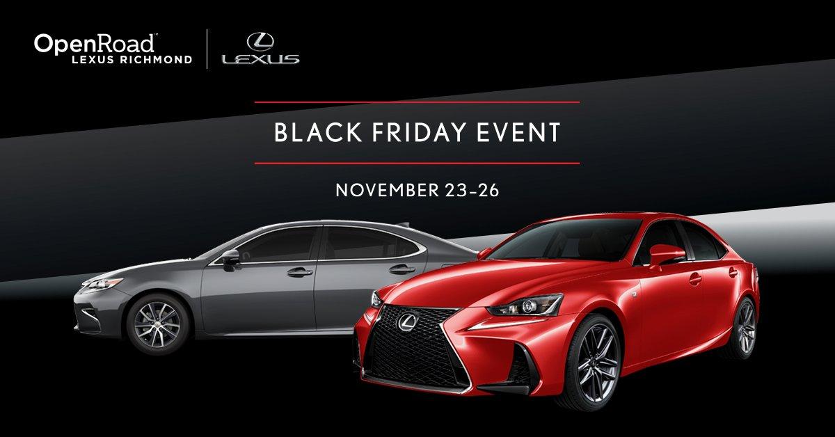 Open Road Lexus Richmond >> Openroad Lexus Openroadlexus Twitter