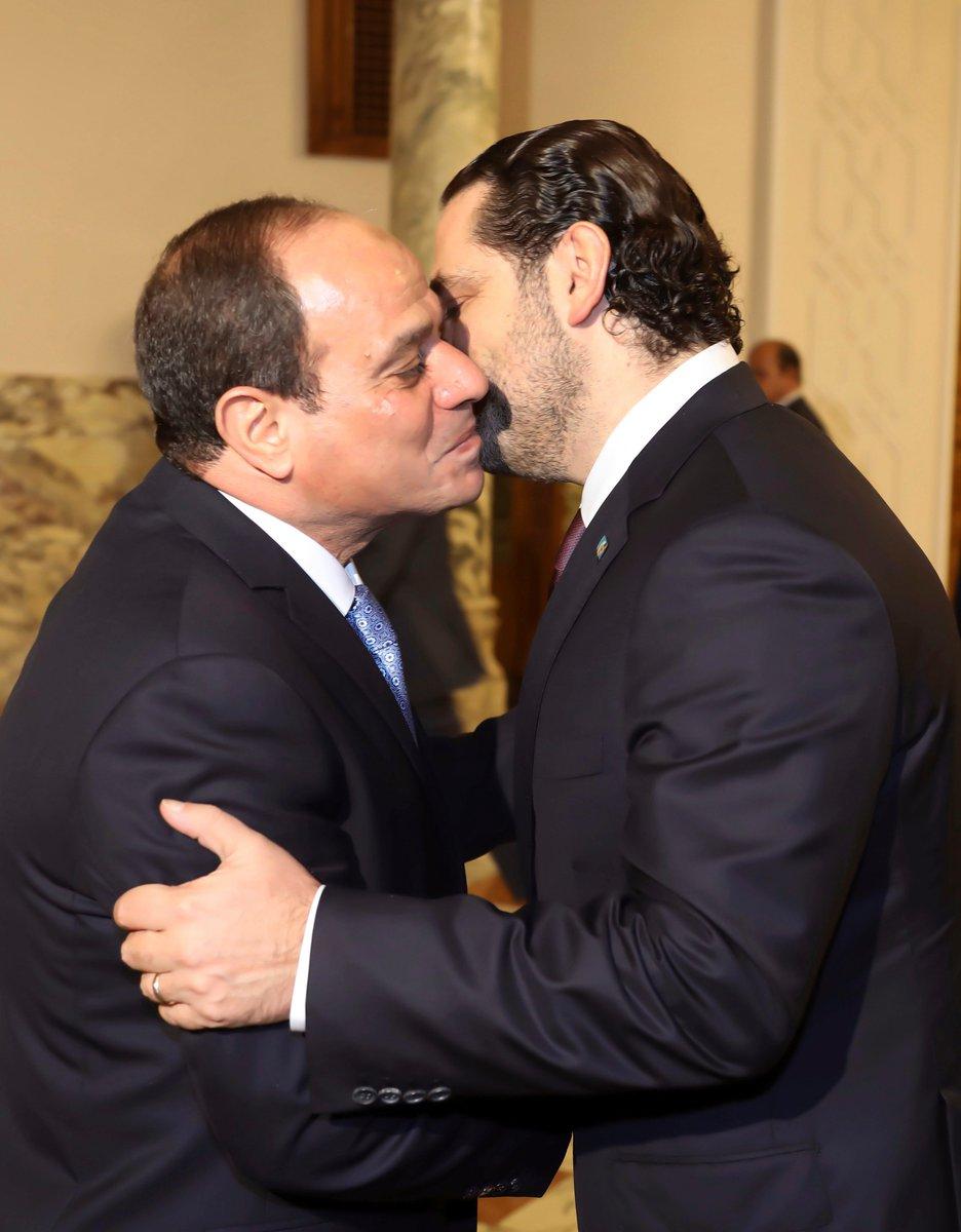 الحريري يغادر إلى لبنان بعد لقاء الرئيس...