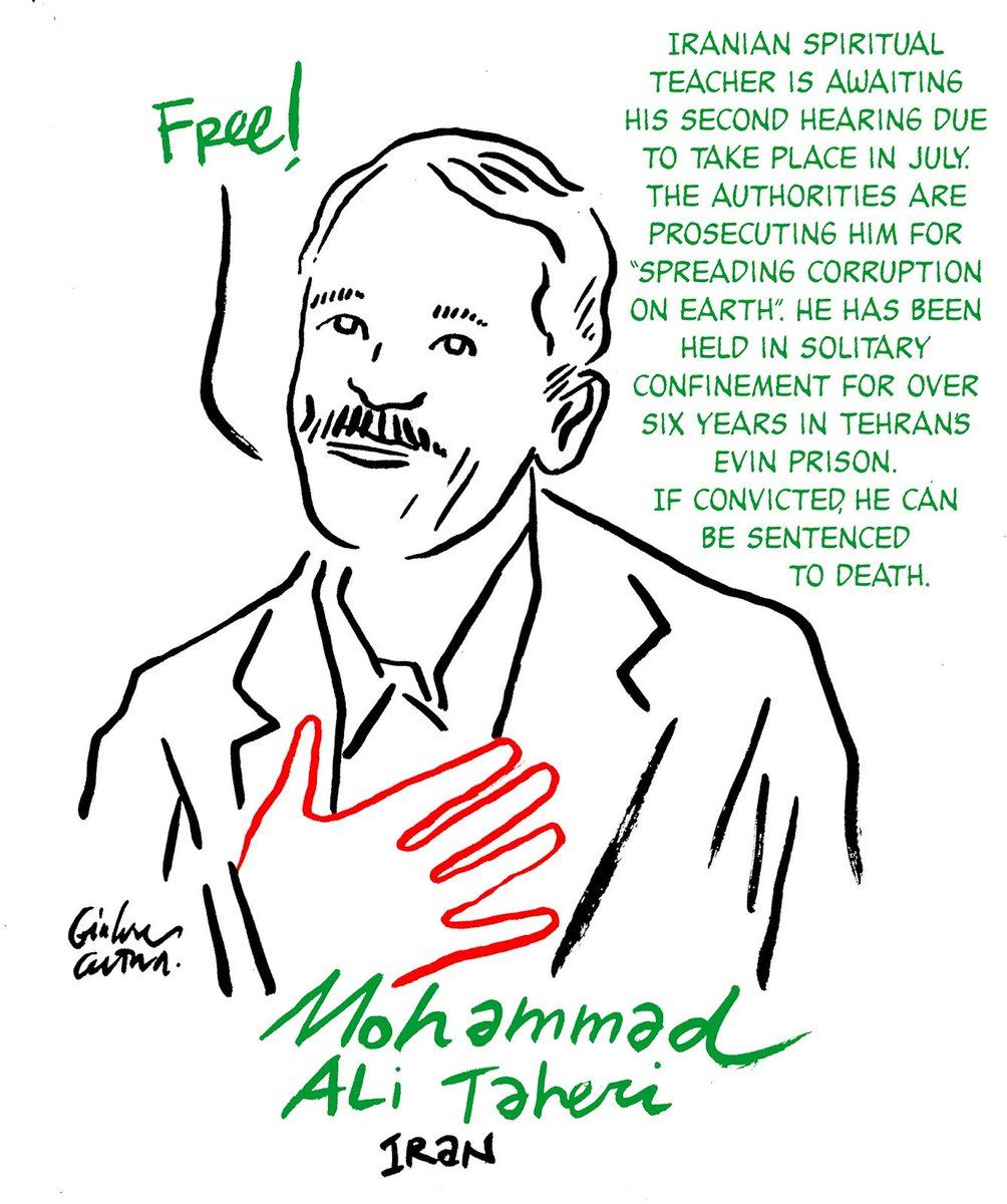 Why #EU continues to be shamefully silent on persecution against #Taheri by its partner #IRGC in Iran @FedericaMog ?  #Taheri_movement  @Taheri_Movement  @Reuters  @washingtonpost  @TIME<br>http://pic.twitter.com/LO5ktd0aBb