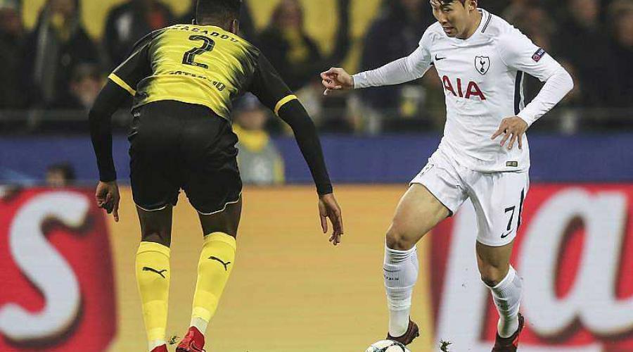 Ligue des champions. DIRECT : début du match entre Dortmund et Tottenham https://t.co/uxhGNZyIVH