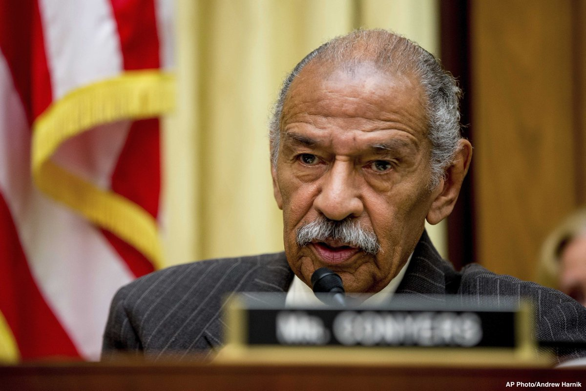Rep. John Conyers denies report alleging he sexually harassed female aide, leading to five-figure payout funded by taxpayers. https://t.co/FgU4D1HNow