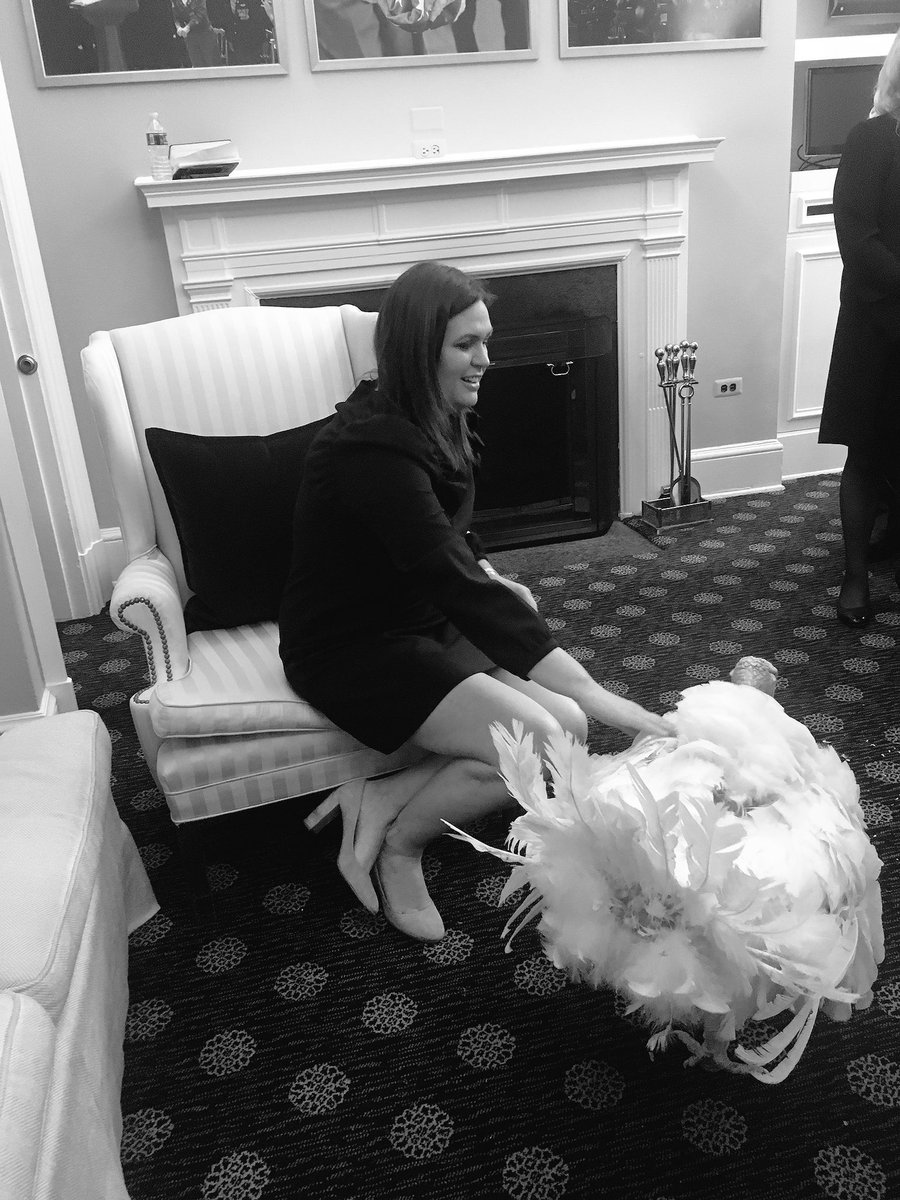 Only one of these turkeys deserves a pardon. #USPolitics #WhiteHouse <br>http://pic.twitter.com/CtXgpjN2uo