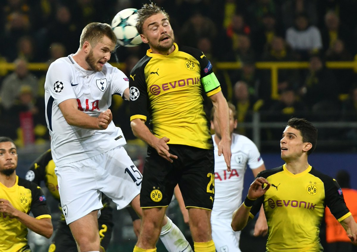 Rkr Dortmund borussia dortmund vs tottenham hotspur chions league 2017 2018