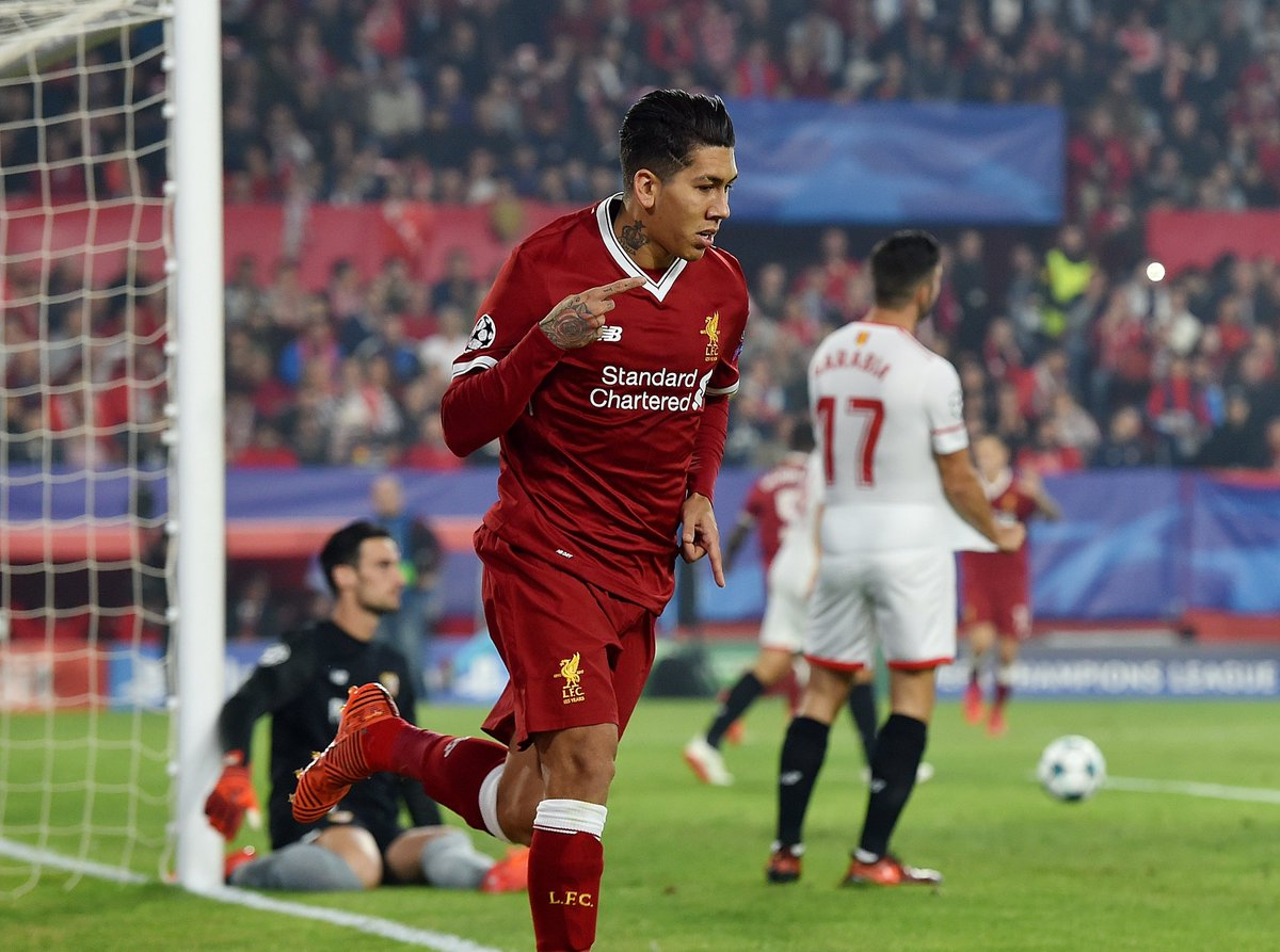 RT @LFC: Our fastest goal in the #UCL ⚽💨  Bobby Firmino 👏 https://t.co/J7OXNl866H