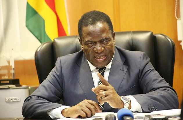1,665 documents on new @Zimbabwe new leader Emmerson