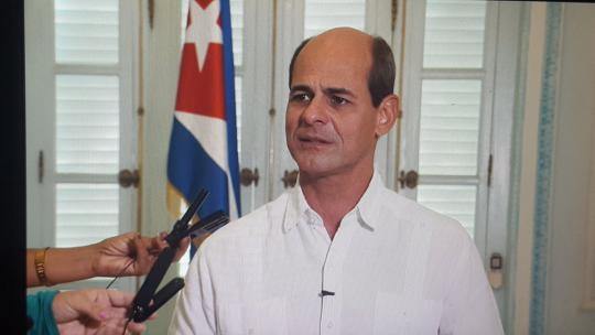 Cuban Minister expresses concern about situation in Honduras.