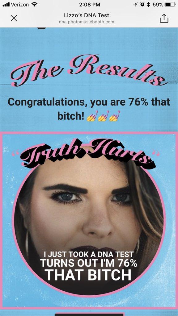 @lizzo @Spotify 76% percent that bitch 💃...