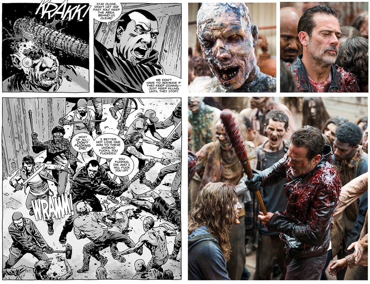 Take a look at how Sunday's #WalkingDead...