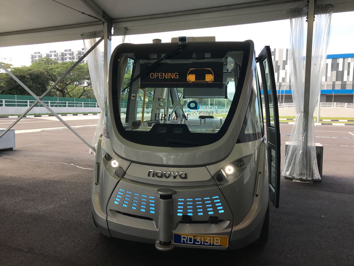 JUST IN: Punggol, Tengah and the Jurong Innovation District will be the first areas in Singapore to test self-driving buses and shuttles https://t.co/wfYA8tQ3q5