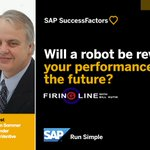 Is there a performance review by a robot in your future? Hear what @BrianSSommer has to say on the new Firing Line: https://t.co/WyxOoOoe1b
